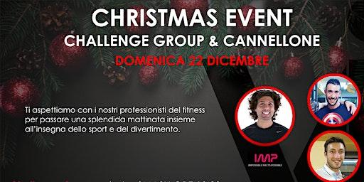 CHRISTMAS CHALLENGE GROUP & PRANZO