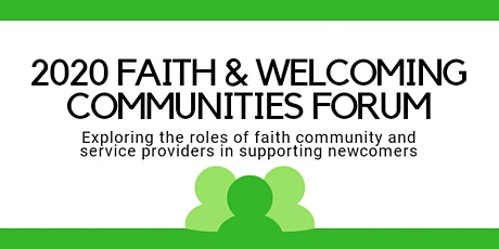 2020 Faith & Welcoming Communities Forum tickets