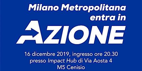 Incontro Milano Cittá Metropolitana in Azione biglietti