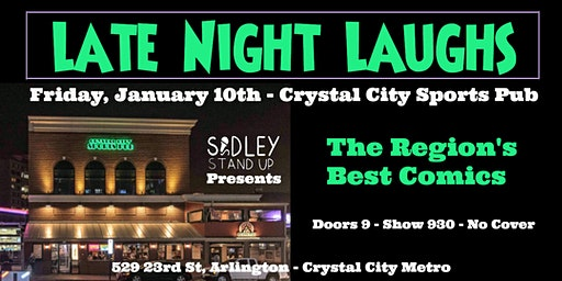 Late Night Laughs - Crystal City Stand-up Comedy