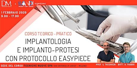 Implantologia e Implanto-protesi con protocollo Easy Piace biglietti