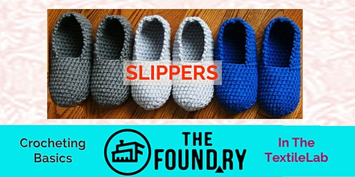 Crochet Slippers - A Two-Session Workshop!