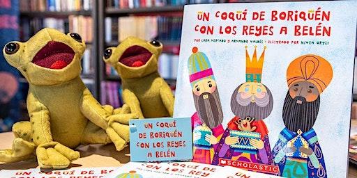 """Presentación del libro """"Un Coquí de Boriquén con los Reyes a Belén"""""""