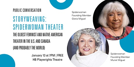 Public Conversation: STORYWEAVING: Spiderwoman Theater tickets
