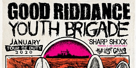 Good Riddance with Youth Brigade, The Last Gang tickets