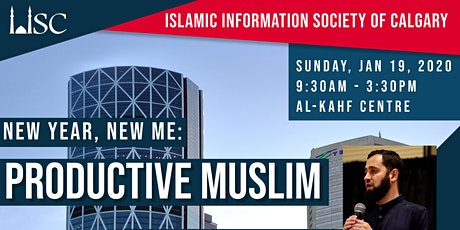 New Year, New Me - The Productive Muslim tickets
