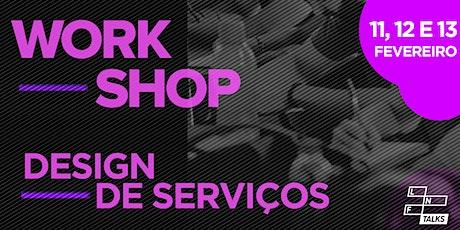 [LNF Talks] Design de Serviços na PRÁTICA ingressos