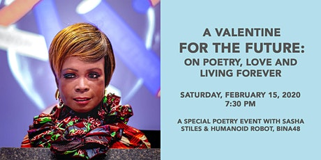 A Valentine for the Future: On Poetry, Love and Living Forever tickets