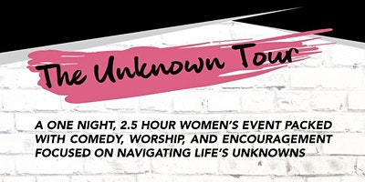 The Unknown Tour 2020 - Plainfield, IN