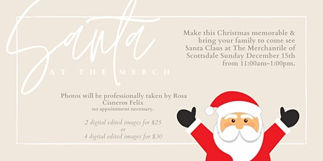 Santa Claus is Coming to the Merch! Take professional photos with Santa! tickets