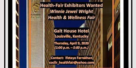 Health-Fair exhibitors wanted tickets
