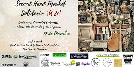 Second Hand Market Solidario ¡a 2€! - Organizado por Events4Animals entradas