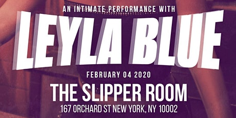 An Intimate Performance with Leyla Blue tickets