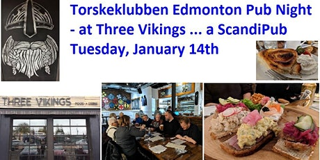 Torskeklubben Edmonton - Three Vikings Pub Night tickets