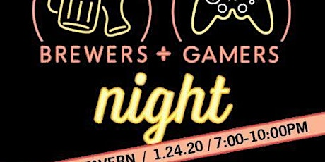 Brewers and Gamers Night! tickets