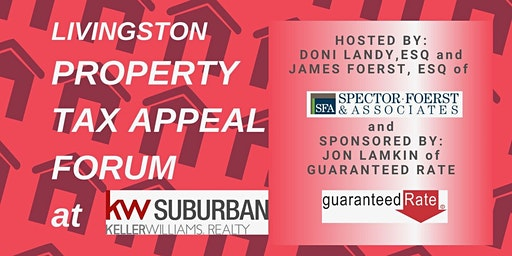 Livingston Property Tax Appeal Forum