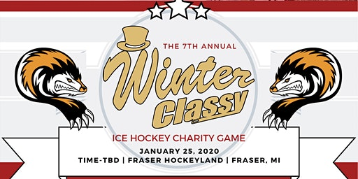 The 7th Annual Winter Classy Charity Hockey Game for Pancreatic Cancer