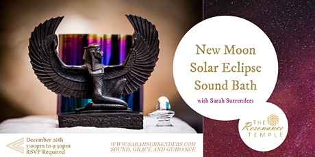 New Moon Solar Eclipse Sound Bath billets
