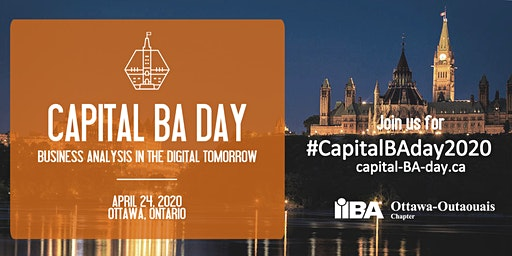 Capital BA Day 2020 | Business Analysis in the Digital Tomorrow