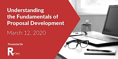 Understanding the Fundamentals of Proposal Development tickets