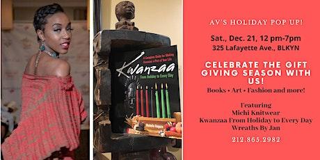 AV Holiday Pop UP in Clinton Hill - Sat., Dec. 21! tickets