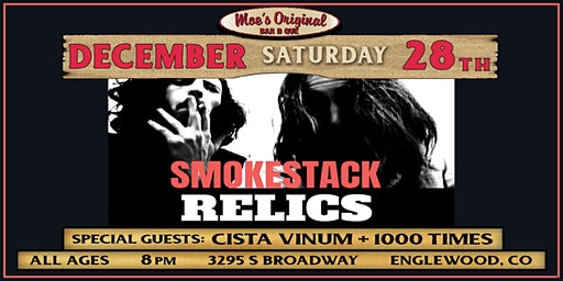 Smokestack Relics w/ Cista Vinum + 1000 Times