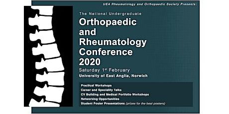 The National Undergraduate Orthopaedic and Rheumatology Conference 2020 tickets