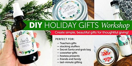 DIY Holiday Gifts Workshop