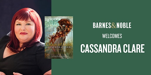 Cassandra Clare celebrates the release of CHAIN OF GOLD in Holland, PA!