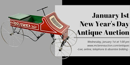 January 1st New Year's Day Antique Auction