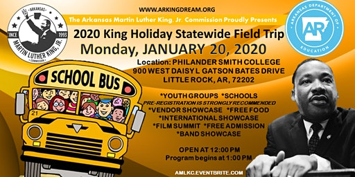 2020 MLK State-Wide Field Trip Day