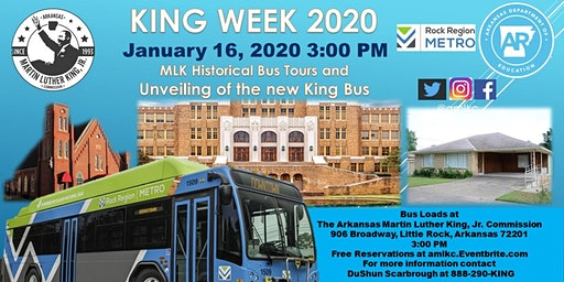 2020 MLK Heritage Bus Tour and King Bus Unveiling