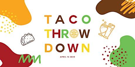 The 2nd Annual  Taco Throwdown tickets