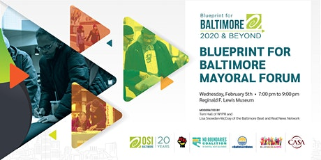 Blueprint for Baltimore Mayoral Forum tickets