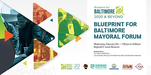 Blueprint for Baltimore Mayoral Forum
