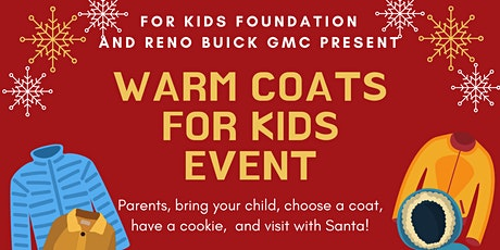 Warm Coats for Kids Event tickets