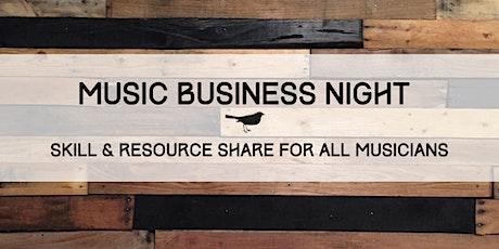 Music Business Night tickets