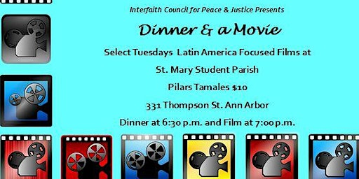 2020 Dinner and a Movie; Latin America Series