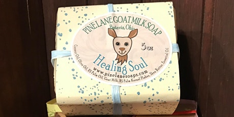 Goats Milk Soap Making with Pine Lane Soaps tickets