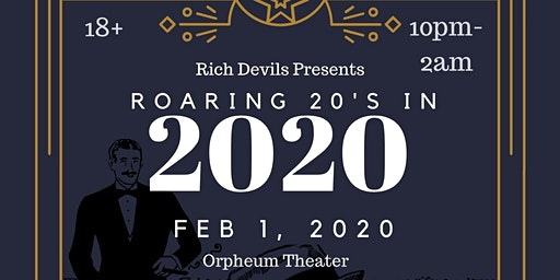 Roaring 20's in 2020 featuring DJ Tokin