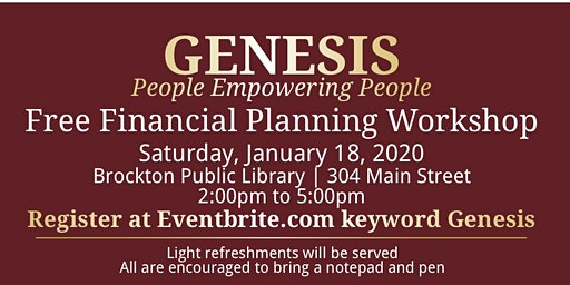 Genesis Financial Workshop