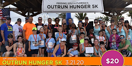 Feeding South Florida's 10th Annual Outrun Hunger 5K presented by JM Family Enterprises tickets