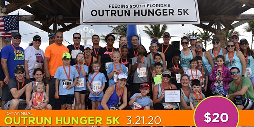 Feeding South Florida's 10th Annual Outrun Hunger 5K presented by JM Family Enterprises