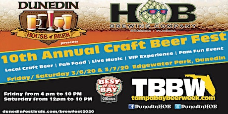 10th Annual Craft Beer Festival tickets