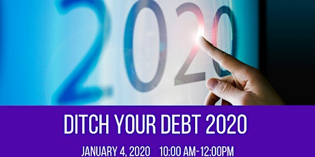 Ditch Your Debt 2020 tickets