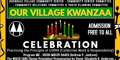 Our Village Kwanzaa Celebration 12/28/2019 tickets