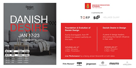 Danish Desire - DesignTO tickets