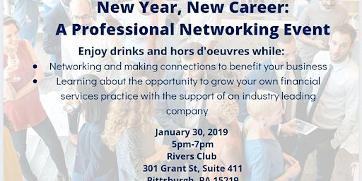 New Year, New Career Professional Networking Event