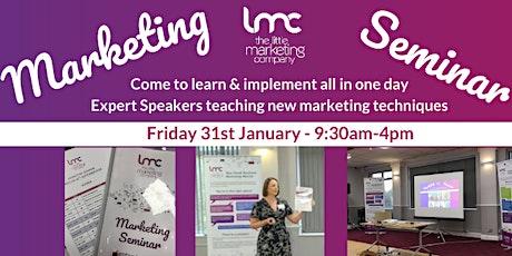 Marketing Seminar Jan 2020 tickets