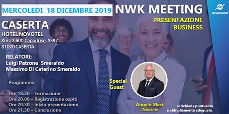 Presentazione Business Meeting CASERTA biglietti